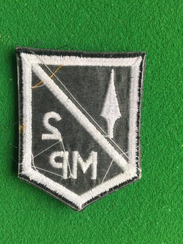 Reverse view of this P.A. badge.