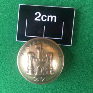 27 Inniskillings button
